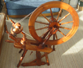 Crowdy of Oxford spinning wheel