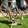 Douglas Andrew Scandinavian type spinning wheel