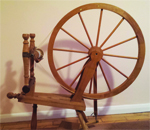 Jim Hennequen spinning wheel