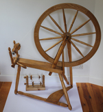 Leadbetter spinning wheel