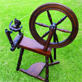 Leonard Williams saxony spinning wheel
