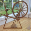 Martin Reeves Pindon spinning wheel