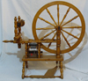 Timbertops Leicester spinning wheel