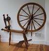 William Gordon Clarke spinning wheel